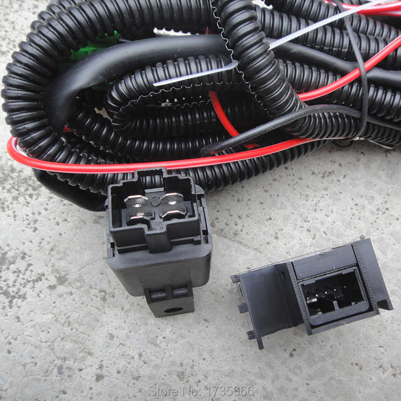 Detail Feedback Questions about Fog Light Wiring Harness Socket Wire