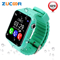 Inteligente Relógio de Pulso Kid Crianças Seguro Anti-perdido GPS Tracker Localização câmera SOS Chamada Smartwatch V7K Bebê Criança Para iOS Android homens