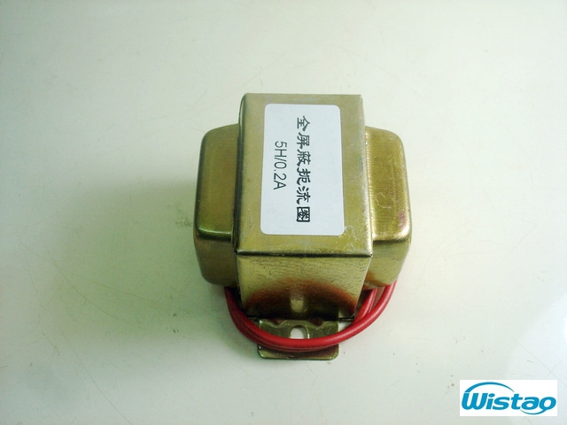 Tube Amp Choke Coil All Shielded Chokes for Vacuum Tube Preamplifier Headphone Amps Filter 5H 0.2A Audio HIFI DIY