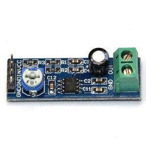 5 шт. LM386 аудио усилитель модуль 200 раз 5в-12в вход 10 к Регулируемое сопротивление
