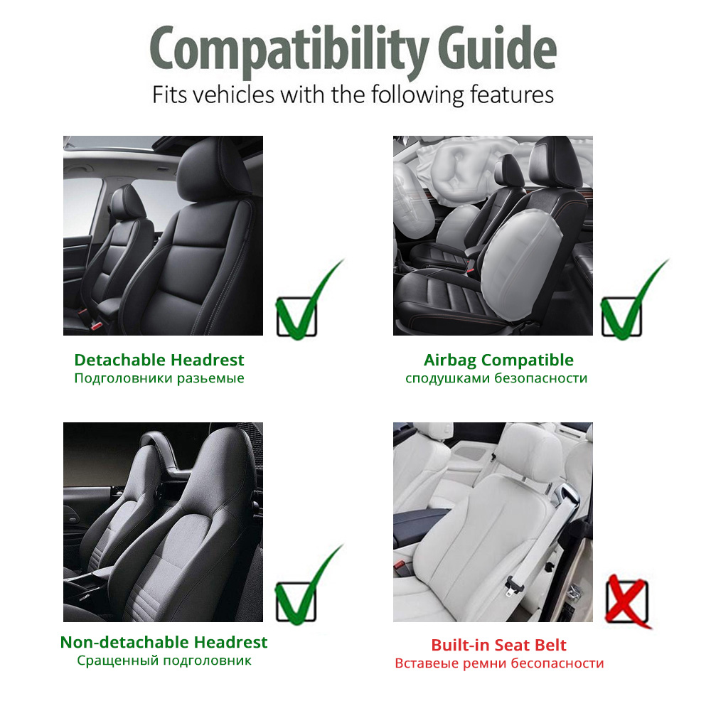 Image 5 - AUTOYOUTH Front Car Seat Covers Fashion Style High Back Bucket Car Seat Cover Auto Interior Car Seat Protector 2PCS For toyota-in Automobiles Seat Covers from Automobiles & Motorcycles
