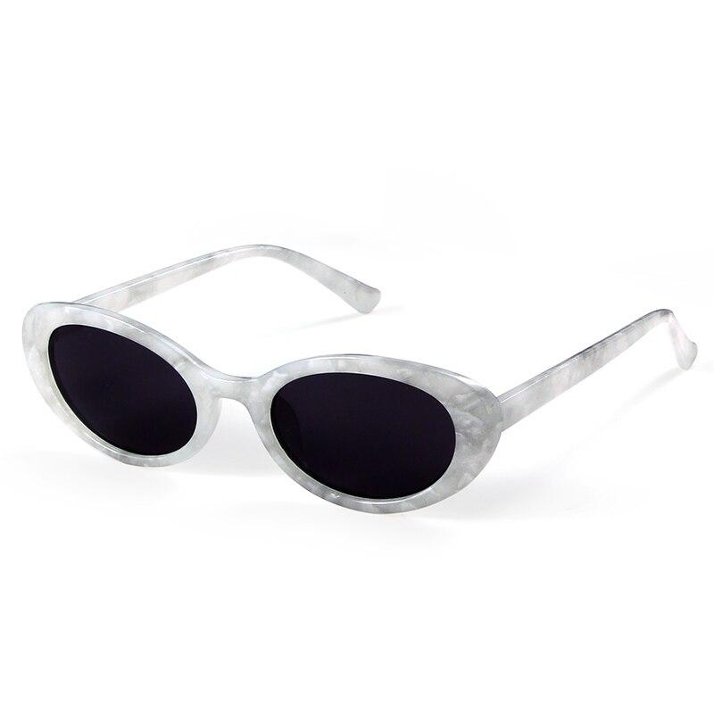 Long Keeper Hot Marble Pattern Frame Oval Sunglasses Women Men Brand Designer Vintage Eyewear Oculos De Sol Feminino Gafas in Women 39 s Sunglasses from Apparel Accessories