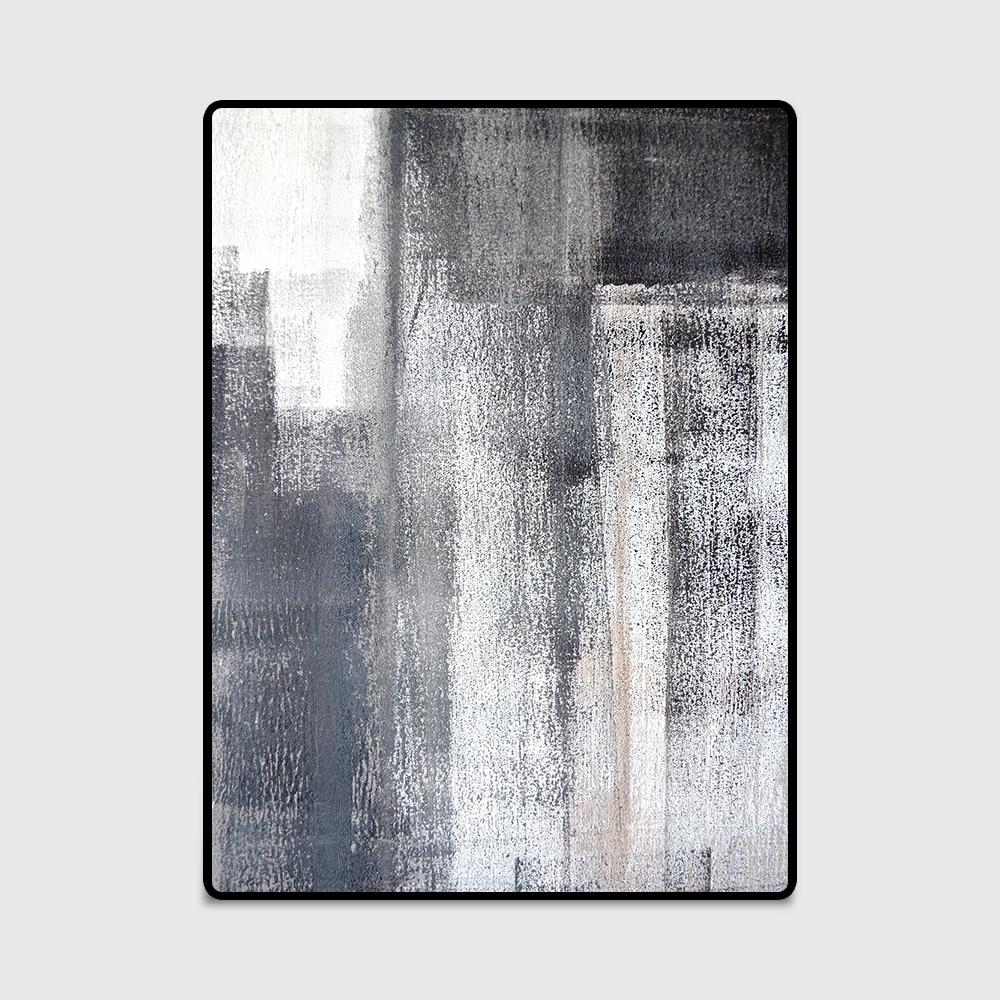Bedroom Black Rug Glass Bedroom Door Bedroom Paint Ideas Feature Walls Bedroom Door Colors: Modern Chinese Ink Wash Print Nonslip Door/Kitchen Mat