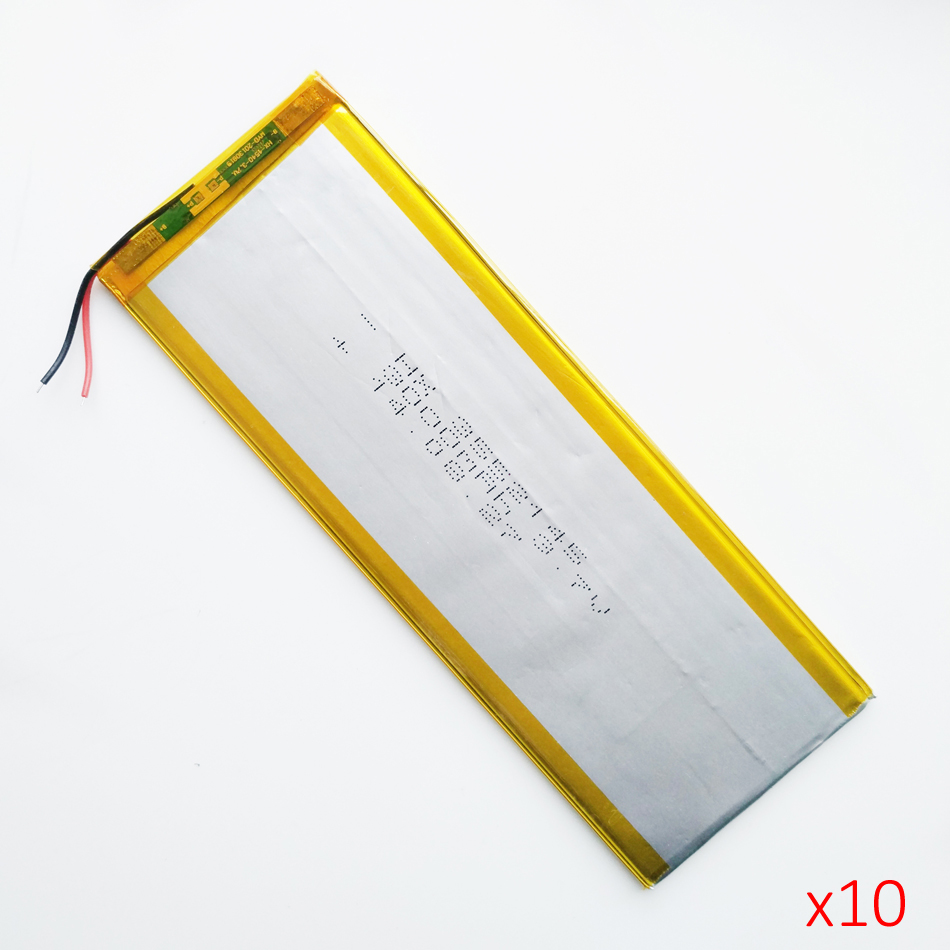 3.7V 3000mah 3552145 Polymer Lithium Li-Po Rechargeable Battery For MP5 GPS DVD E-book Tablet PC mobile phone video game 3 7v lithium polymer battery 4070100 3000mah battery pocket pc source newman f70