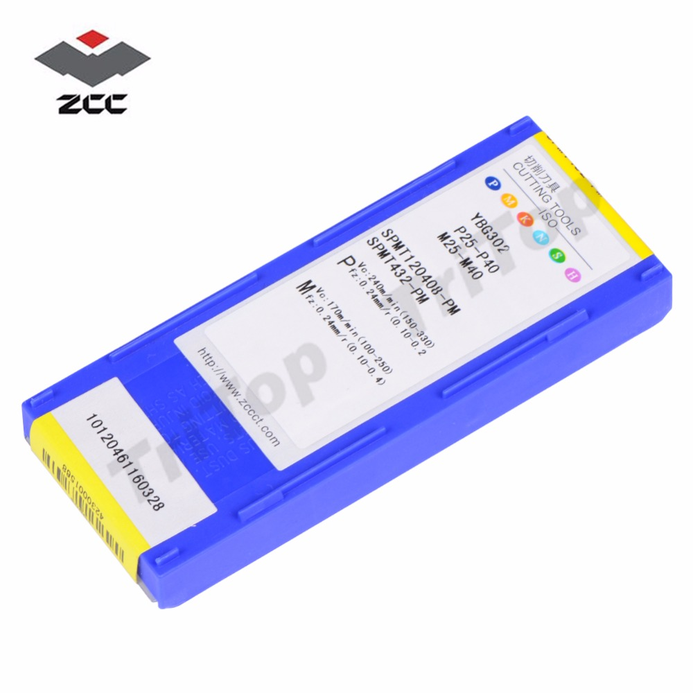 SPMT120408-PM YBG302 ZCC.CT SPMT 120408 Płytki frezarskie z - Obrabiarki i akcesoria - Zdjęcie 6