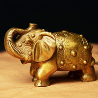China Brass statue Elephant copper fengshui Statue