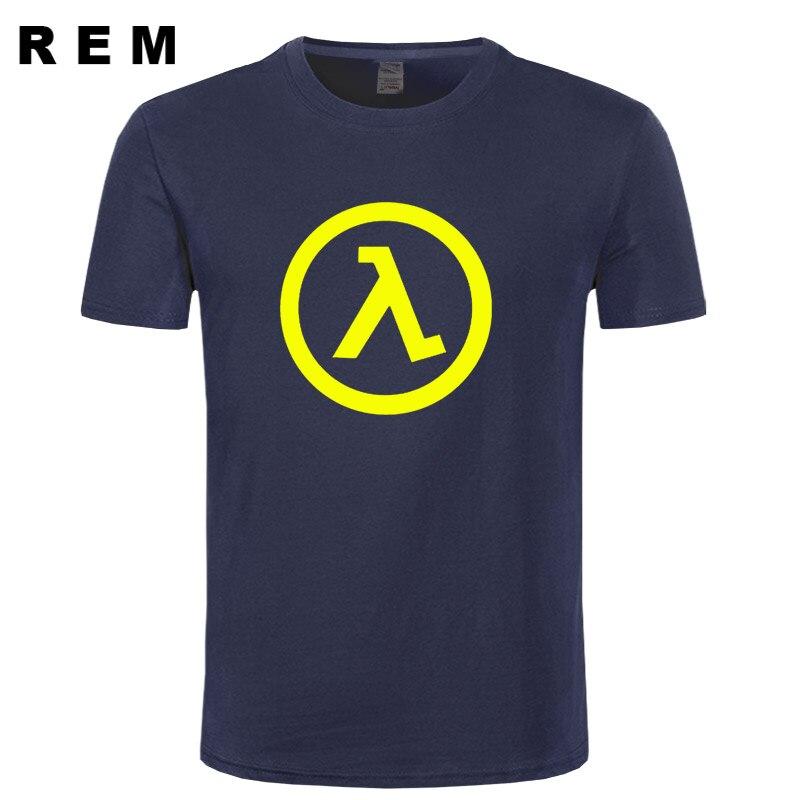 6fce12b946bb98 Top new summer fashion half life 3 t shirt men bawełna drukowana koszulka  clothing męskie z krótkim rękawem darmowa wysyłka