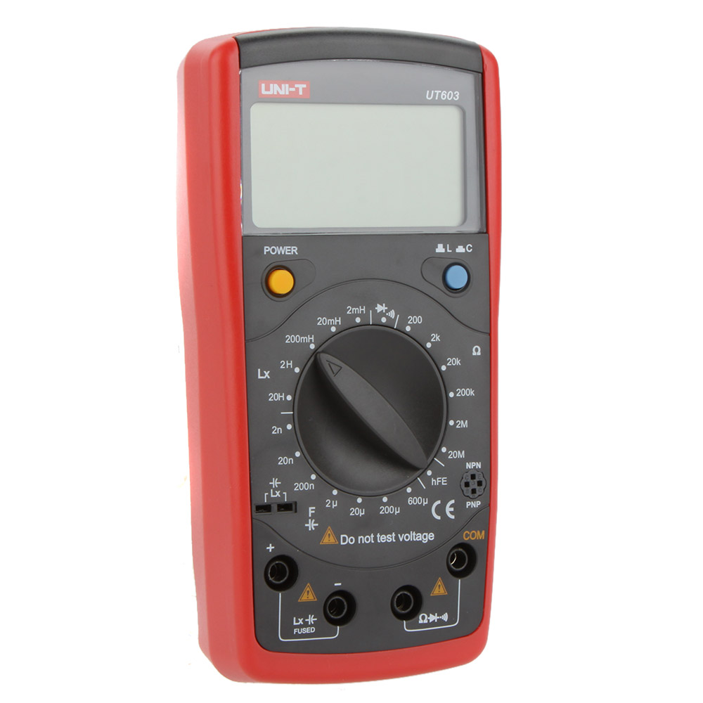 Uni T Ut603 Digital Modern Inductance Capacitance Meters Testers Lcr Bridge Ebay Meter Lcd Capacitors Ohmmeter W Hfe Test In Level Measuring Instruments From Tools On