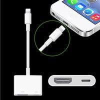 50 Pcs For Mini Lightning AV HDMI HDTV TV Digital Cable Adapter For IPhone 5 5s