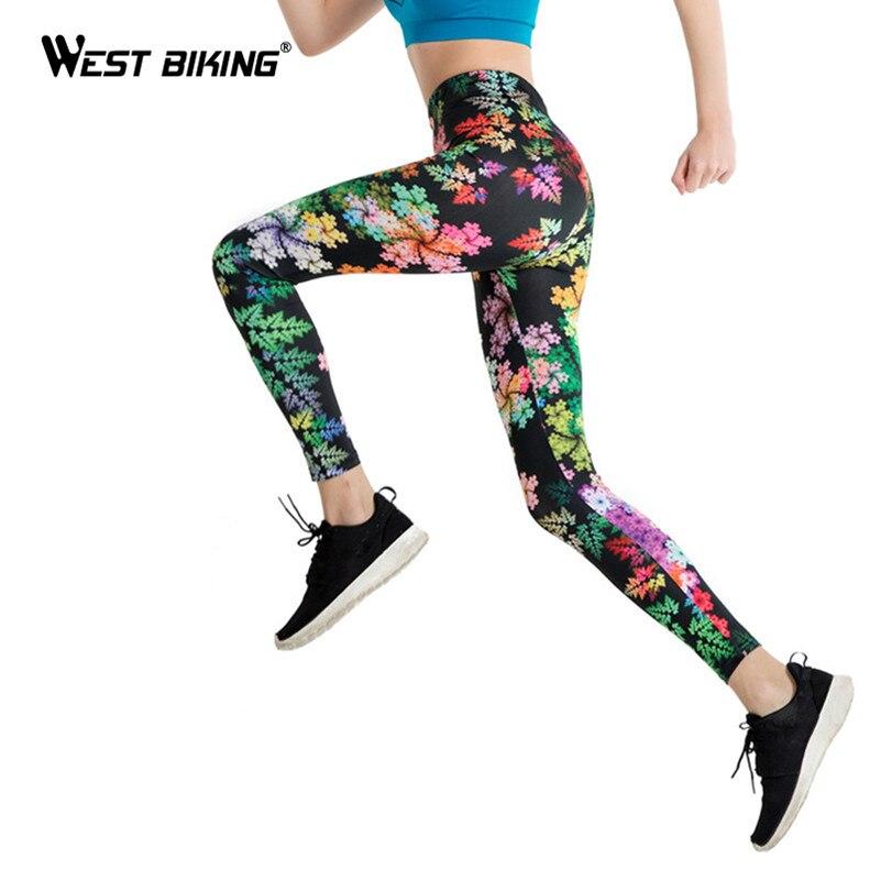 Prix pour Ouest d'été vtt femmes leggings 3d imprimé fleur eye legins gradient leggins crayon pantalon legging collants femmes yoga pantalon