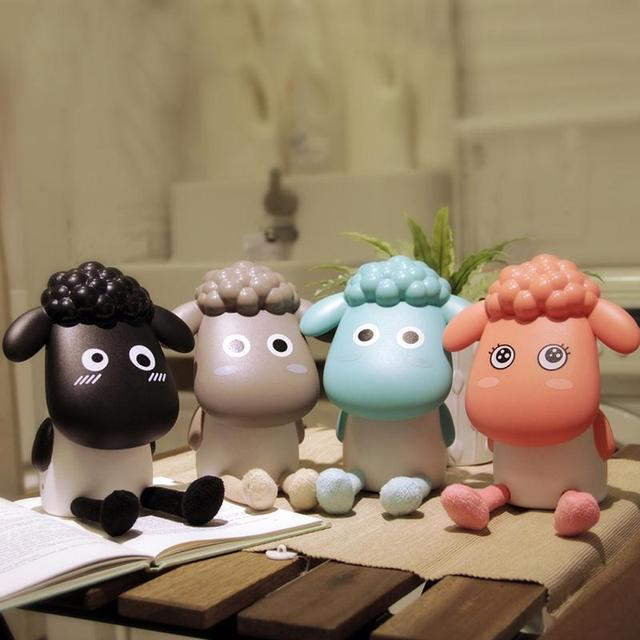 Rechargeable USB Desk Lamp Cute Sheep Dimmable Table Light For Living Room Computer Creative Birthday Gifts For Girlfriend Child