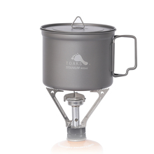 лучшая цена TOAKS 900ml Titanium Mug Ultralight Titanium Bowl Pot Outdoor Camping Picnic Titanium Coffee Mug Folding Handle Ti Cover