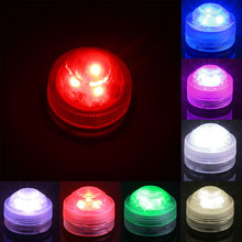 New Diamond 22Keys Remote-Controlled Diving LED Light RGB 3 LED Bulbs Colorful Waterproof Lamp Outdoor Home Decoration Christmas