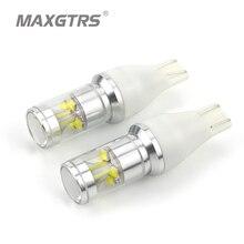 2x T15 921 912 W16W Подлинная CREE чип XBD 50 Вт светодио дный Резервное копирование свет автомобиля Реверсивный лампы резервного копирования сигнал поворота света тормозной фонарь