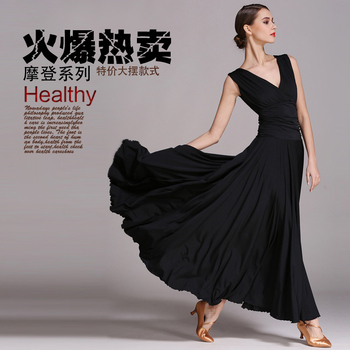 Newest fashion ballroom dance dress for ballroom dancing waltz tango dress standard ballroom dress S-XXL
