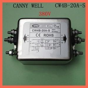 380V CW4B-20A-S 20A, EMI Filte