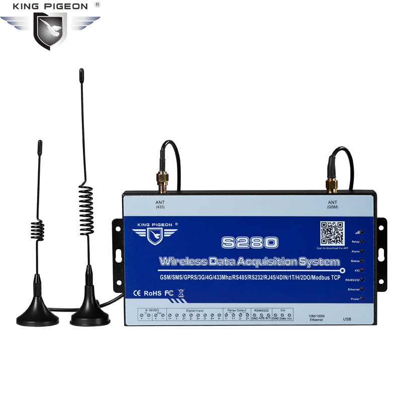 Trådløst LoRa Data Acquisition System GSM SMS Remote Controller - Sikkerhed og beskyttelse - Foto 1