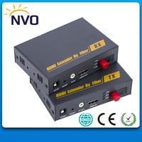 HDMI сжатый Волокно оптическое Трансмиссия с HDMI удлинитель по Волокно RX/tx Видео Аудио конвертер более Волокно кабель до до 20 км