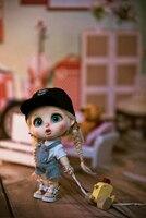 AoaoMeow bjd doll 1/8 bru Surprised gloomy foodie