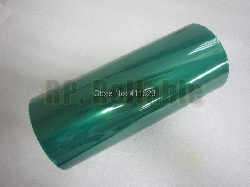 1x 300mm*33 meters*0.06mm High Temperature Withstand Adhesive PET Masking Green Tape PCB electroplate Soldering Shielding