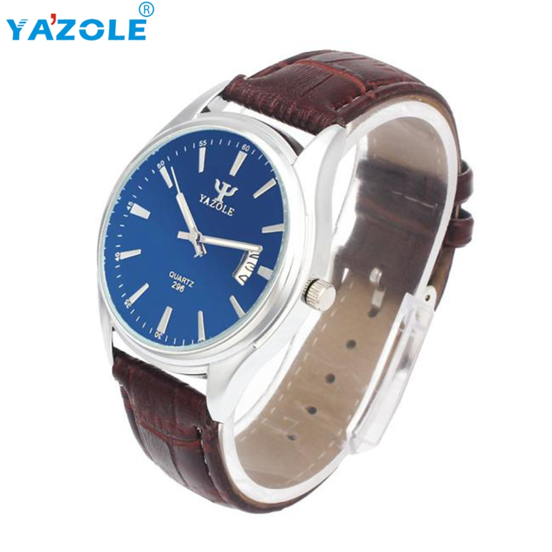 Yazole Mens Watchea Relojes Fashion Casual Mens Watchea Male Clock Business Quartz Wrist Watch Relogio Masculino Clock s26