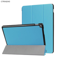 CTRINEWS Leather Flip Case Cover For Asus Zenpad 10 Z301 MLF Smart Stand Magnetic Case For