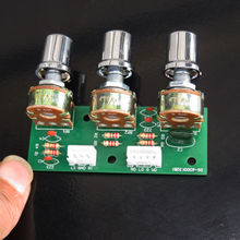 Тон громкости Низкие/высокие частоты Управление доска 3-канальный блок питания с сабвуфером 2,1 усилитель