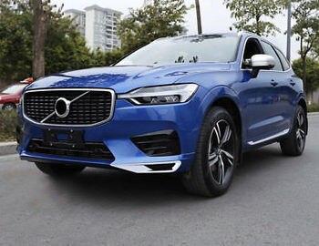 2 stücke ABS Verchromte Unten Vorne Nebel Lampe Rahmen Abdeckung Trim Für Volvo XC60 2018