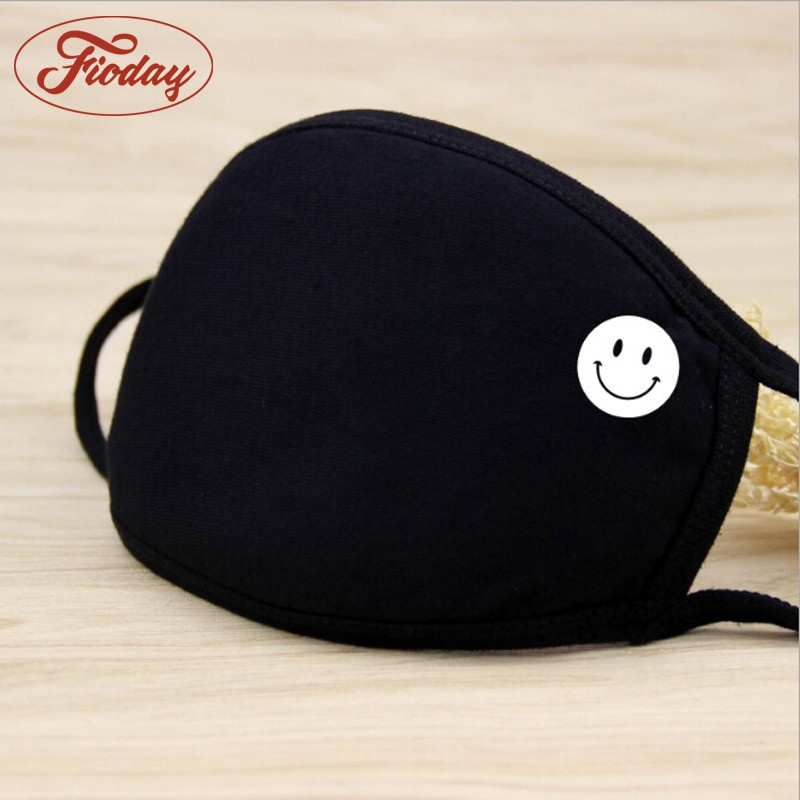 Cotton Mouth Face Mask Unisex Outdoor Anti-Dust Wearing Respirator Black Color High Quality Health Care A12D15