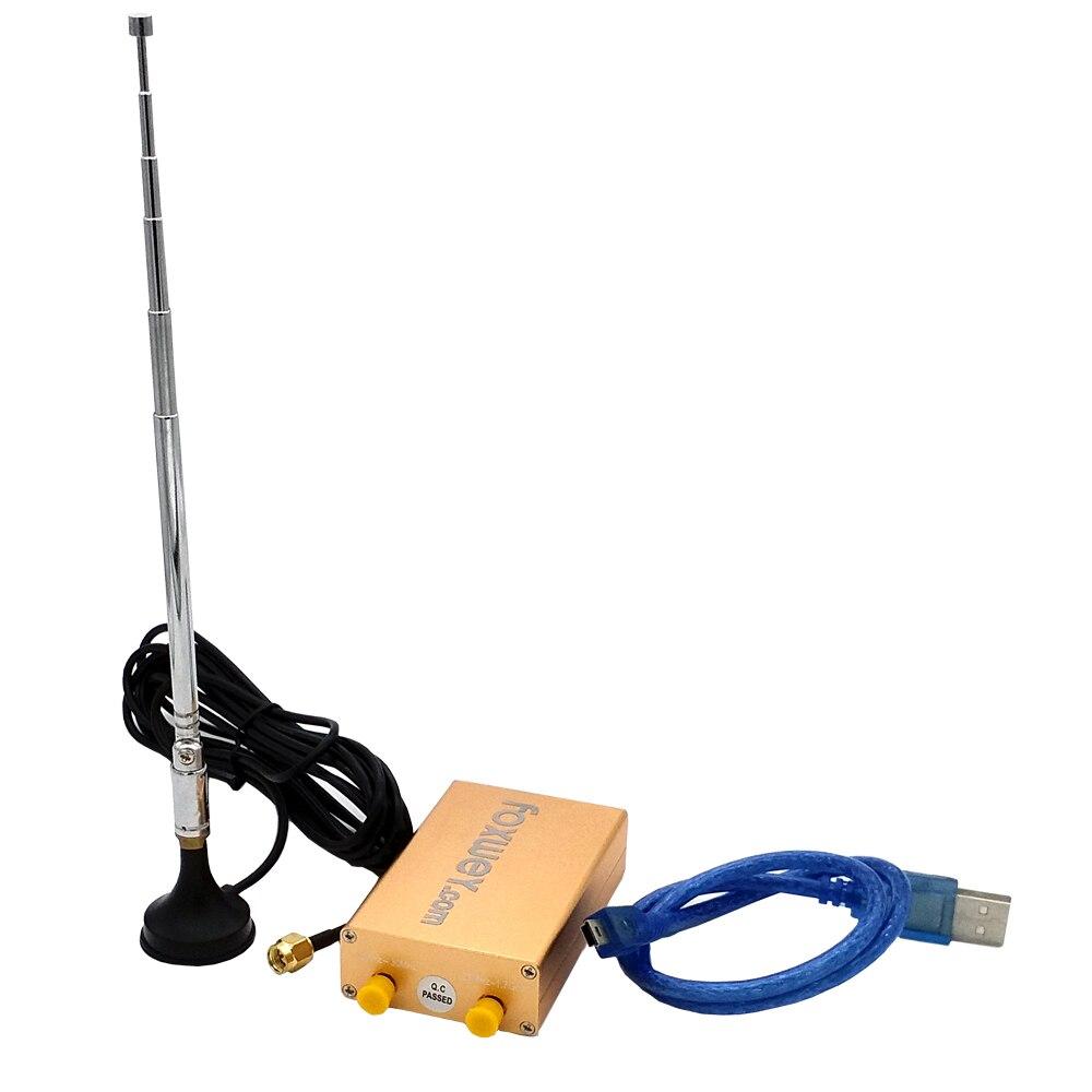 Nuevo SDR RTL2832U R820T2 HF recepción 100 K-1,8G TXCO 0,5 PPM SMA radio definido por software precisa frecuencia - 5