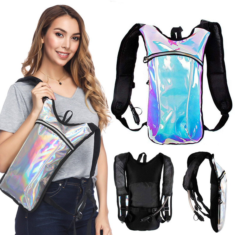 Rave Hydration Pack Backpack 2L Water Bladder For Festivals Raves Climbing Running XR-Hot