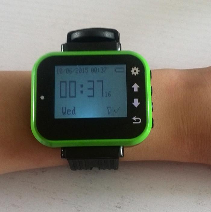 K-300PLUS green Watch Wrist Calling Number Receiver