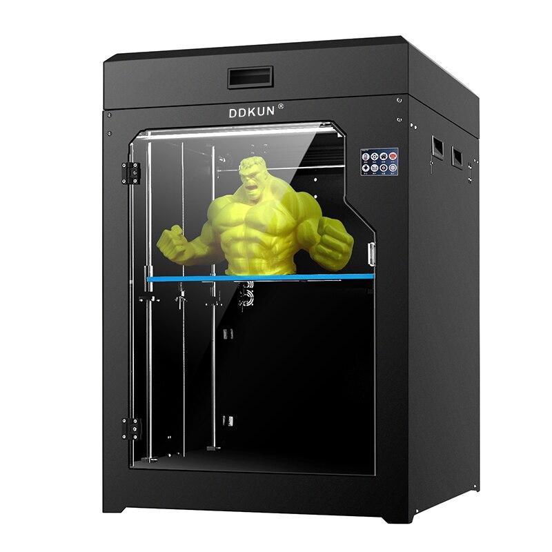 400*400*450mm Plus Grote Maat 2019 3d Printer Print Diy Kits Pla Abs Hout Gloeidraad Ondersteuning Fdm Impresora 3d Drucker Een Plus Een Gratis