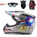 Adultos motocross off road casco de la motocicleta atv dirt bike downhill mtb dh racing casco capacetes casco cruz dot moto