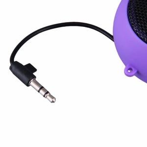 Image 5 - Kebidu Mini Hamburger Type Portable Speaker Music player Stereo Plug in Audio Colourful Cute Design for Girl Child