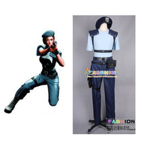 2016 Resident Evil Jill Valentine Cosplay Kostüm özel Cadılar Bayramı karnaval Anime cosplay kostüm
