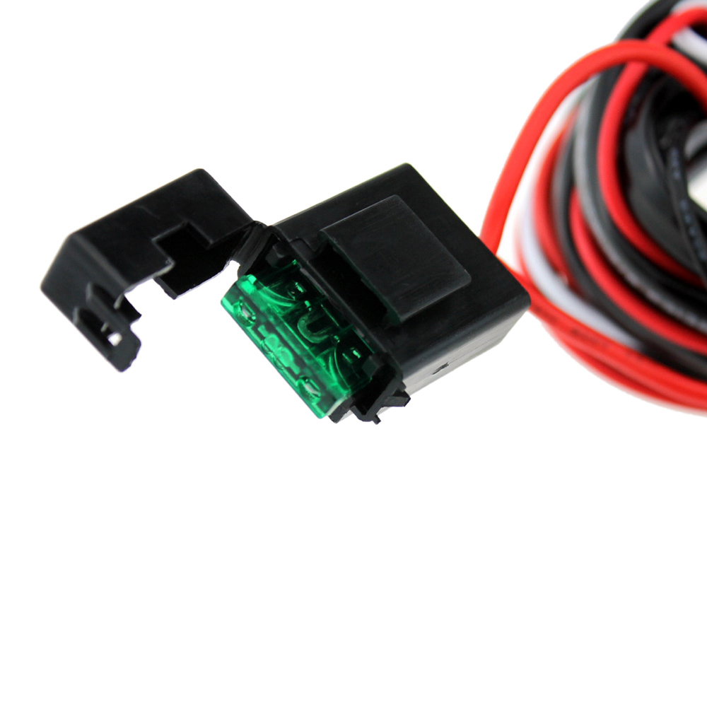 medium resolution of kkmoon led light bar rocker on off switch with relay wiring harness kit 12v 40a switches