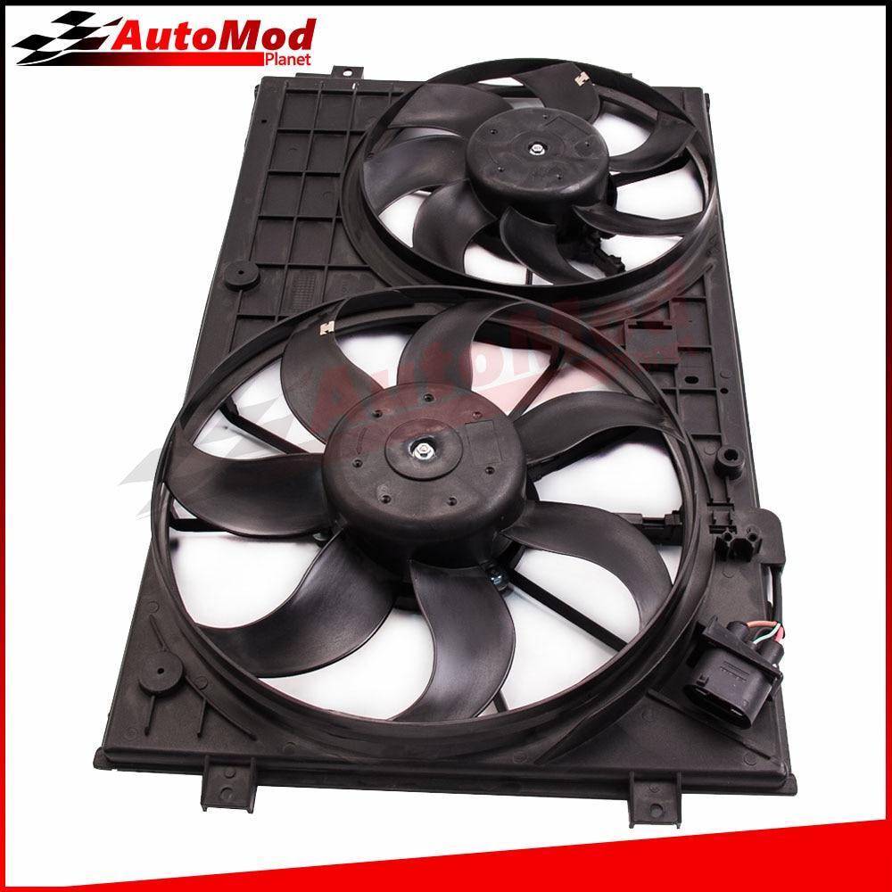 Radiator Fan for VW GOLF PASSAT AUDI A3 SKODA SEAT TOLEDO 1K0959455R 1K0959455ES 1K0959455Q  цены