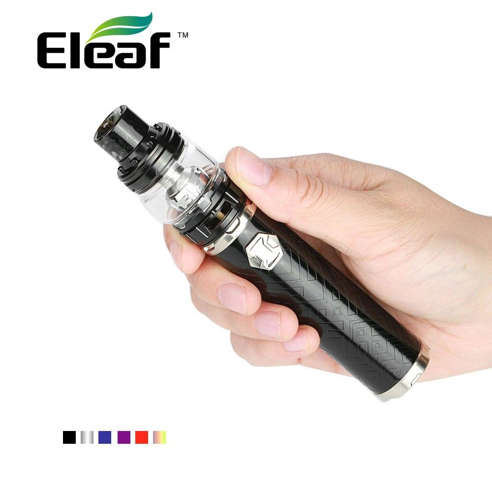 Originale Eleaf IJust 3 Starter Kit Built-In 3000 mah Batteria 2 ml/6.5 ml Ello Duro Atomizzatore Serbatoio HW-M /N Bobina Ijust Kit VS Ijust S