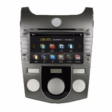 HD 2 din 8″ Car DVD GPS Navigation for Kia CERATO /FORTE (MT) 2008-2012 With USB Bluetooth IPOD TV Radio /RDS SWC AUX IN