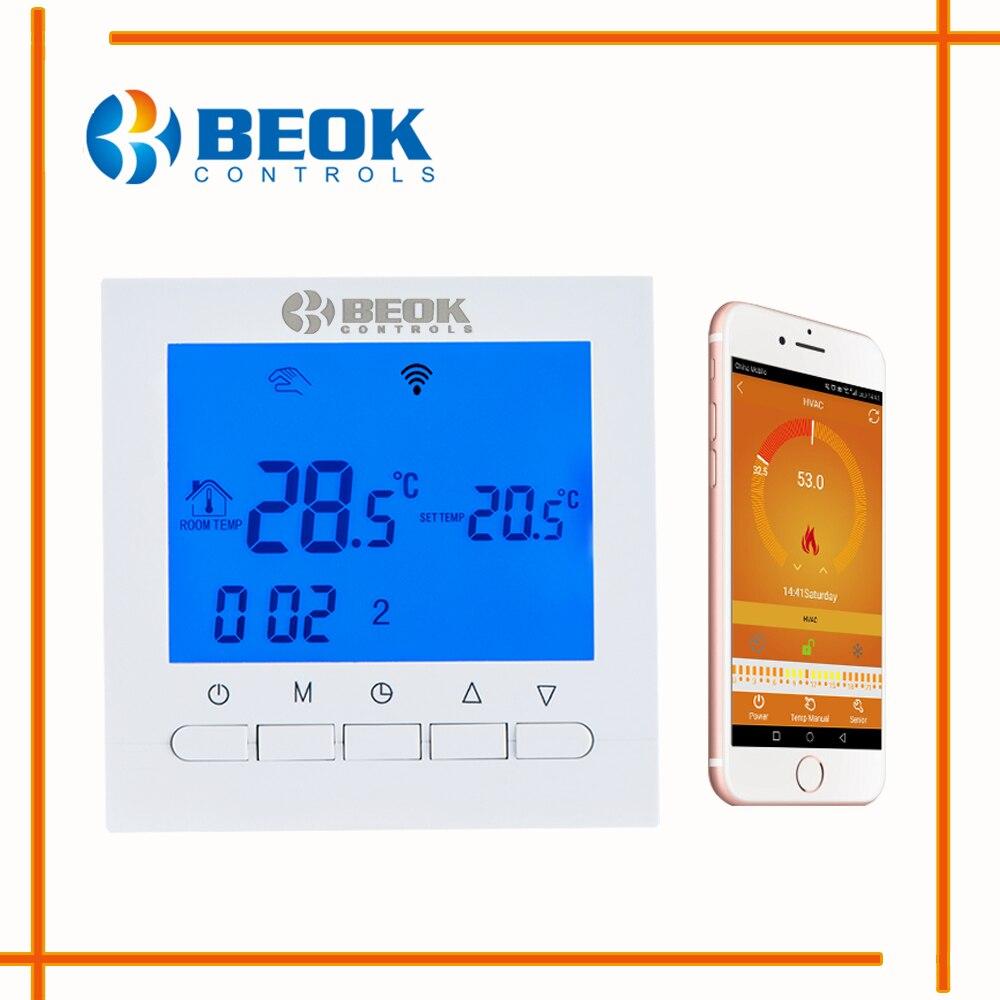 BEOK BOT 313WIFI 3A الغاز المرجل التدفئة Wifi ترموستات