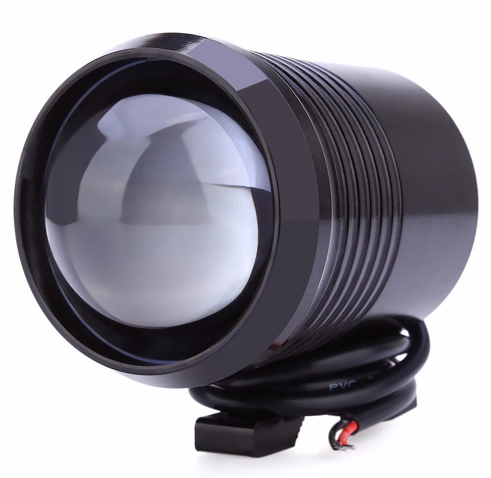 Hot Sale 1PC 1200LM 30W U2 Upper Low Beam Motorcycle Headlight LED Driving Motorbike Fog Spot
