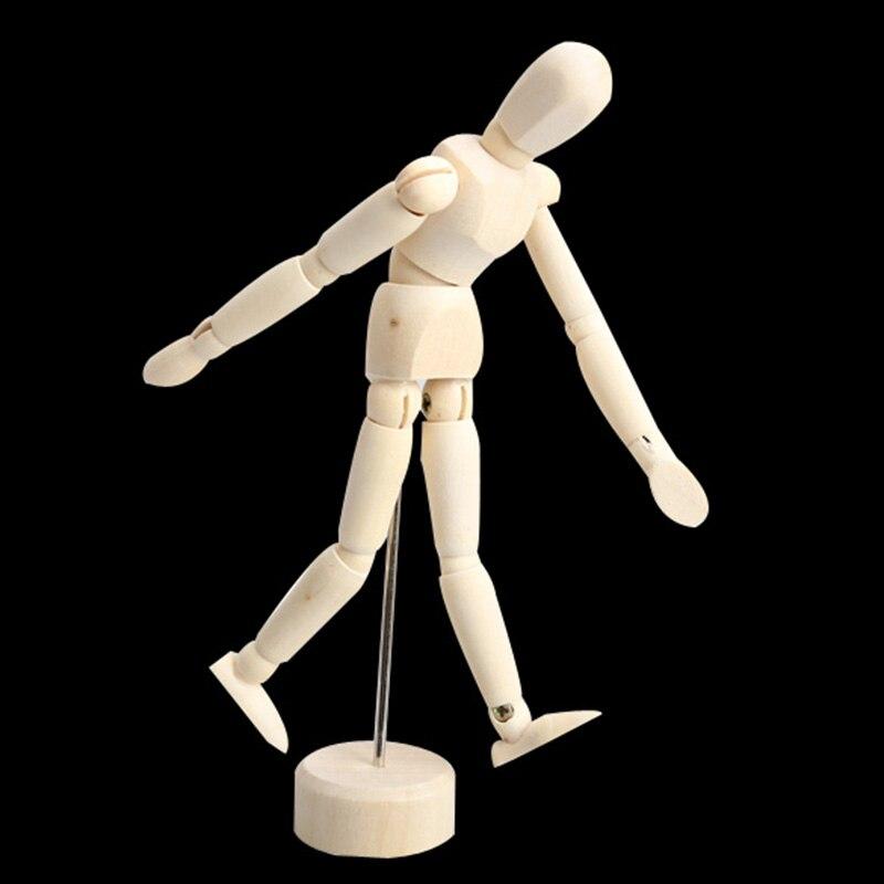 Манекен манекен, деревянный манекен для мужских художников, шарнирный манекен, высокое качество AN88, 4,5/5,5/8 дюймов