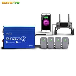 Image 1 - 6 IN 1 Telecomando Caricabatterie A Casa con USB Super Stazione di Ricarica Della Batteria Charger Hub per DJI MAVIC 2 PRO & ZOOM Drone