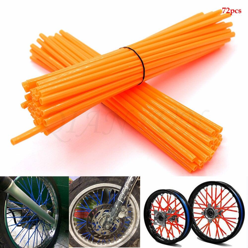 Motorcycle Spoke Skins Wheel Rim Wrap Tubes Cover For 2006-2010 Suzuki GSXR GSX-R 600 750 K6 K7 K8 K9