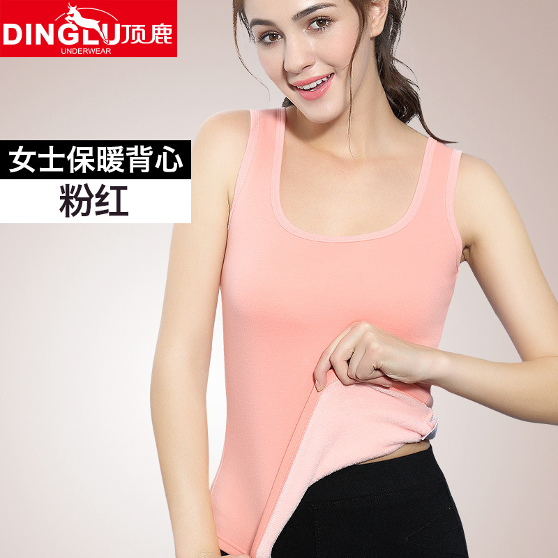 2018 Autumn Winter Cashmere   Tops   Women thermal Underwear Comfortable Keep Warm   Tank     Top   Sexy Slim Cotton Fabrics   Top   Female vest