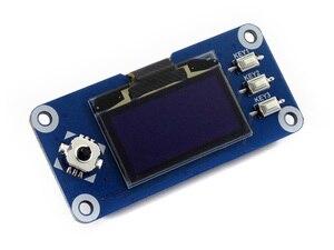 Image 2 - Waveshare 1.3 pouces OLED chapeau daffichage pour framboise Pi 128x64 pixels avec contrôleur intégré interface SPI/I2C