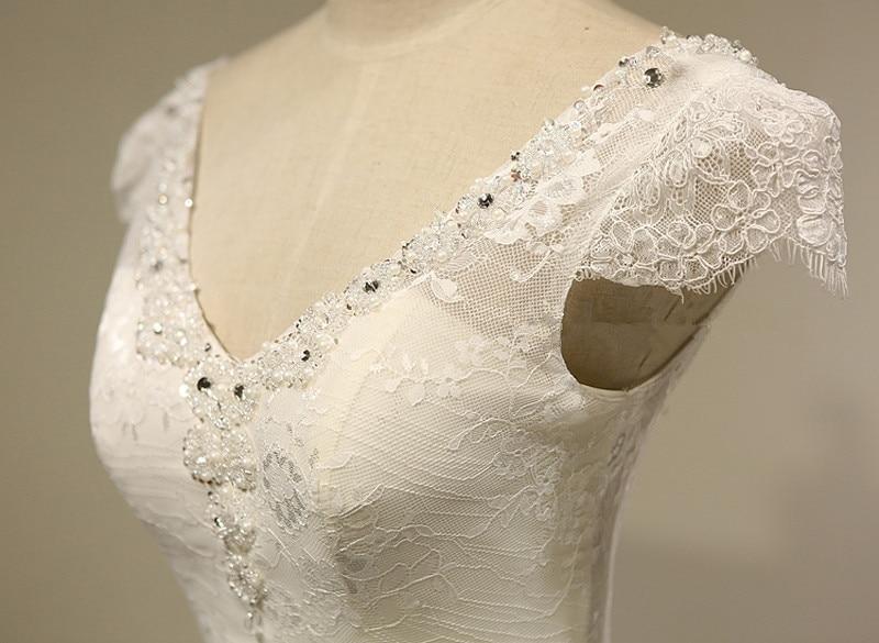 Bridal dresses Real Photo Sexy Lace Mermaid Wedding Dress 2016 Bride Dress Gowns robe de mariage vestido de noiva