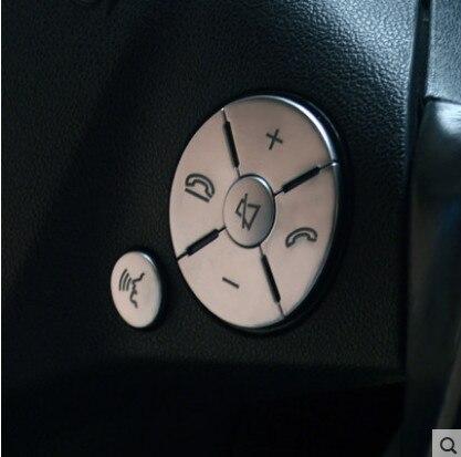 Autocollant de décoration de garniture de volant de volant de voiture pour Mercedes Benz GLK X204/classe E W211 W212/C classe W204