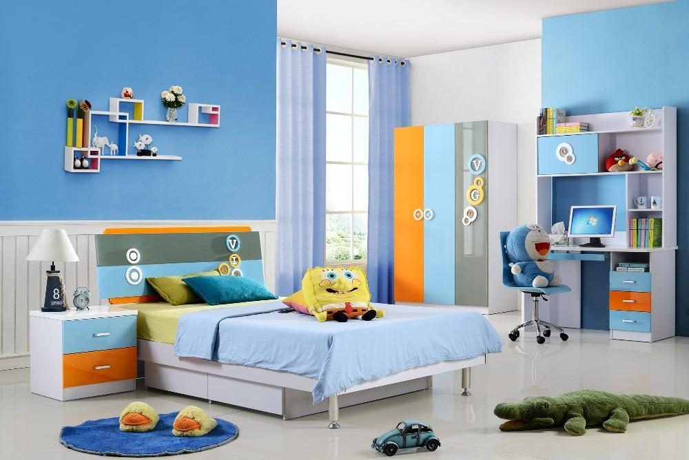 US $880.0  2019 Direct Selling Loft Bed Set Kids Table And Chair Wood  Kindergarten Furniture Camas Lit Enfants Meuble Childrens Bunk Beds-in  Children ...